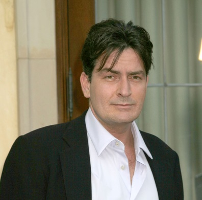 LOS ANGELES - FEB 27:  Charlie Sheen arrives at the Two and a Half Men - Panel  at The Academy of Television Arts and Sciences on February 27, 2008 in North Hollywood, CA