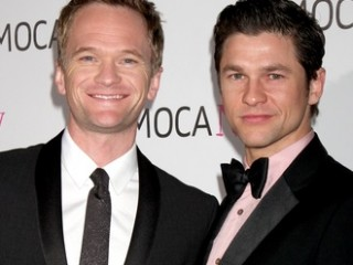 Neil Patrick Harris & Boyfriend arriving at the Museum of Contemporary Art, Los Angeles 30th Anniversary Gala MOCA Grand Avenue Los Angeles,  CA November 14, 2009 ©2009 Kathy Hutchins / Hutchins Photo