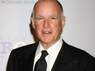 Jerry Brown arriving at the Producer's Guild Awards, at the Palladium in Los Angeles, CA on  January 24, 2009 ©2008 Kathy Hutchins / Hutchins Photo